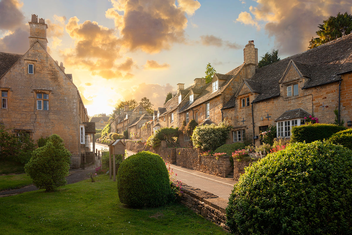 Cotswold town
