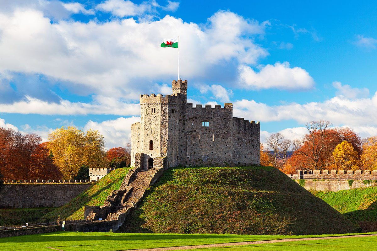 Cardiff, the capital of Wales