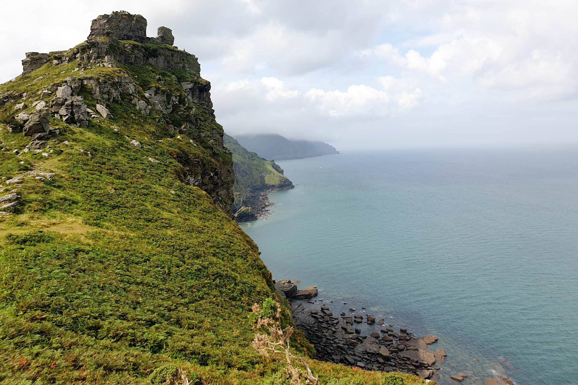 Valley of Rocks near Lynton in North Devon