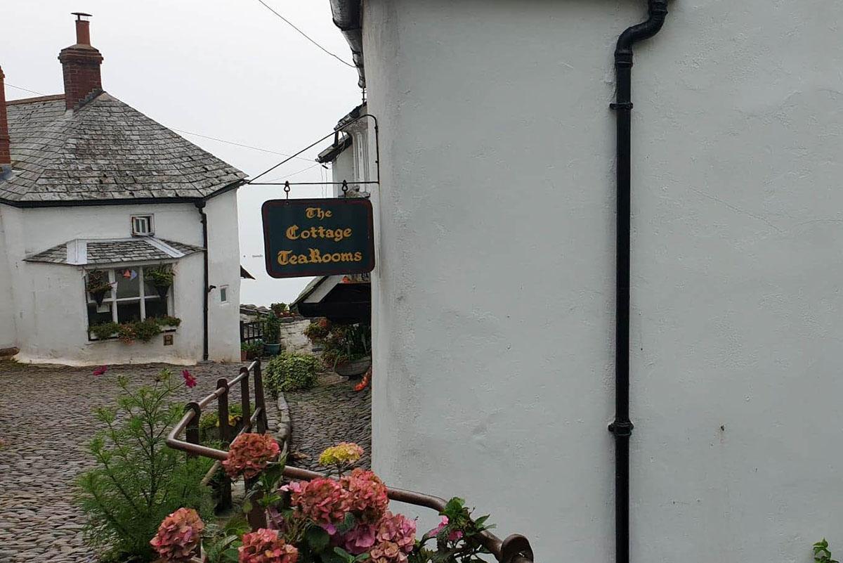 Tea rooms in Clovelly