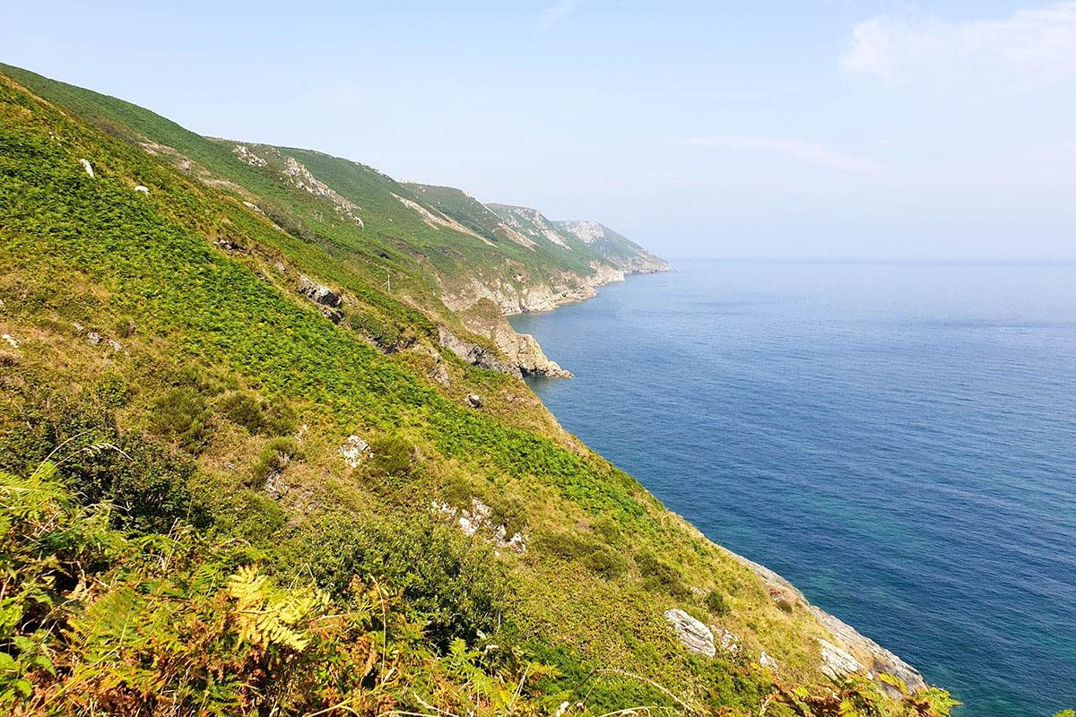 Lundy Island Coastline, North Devon