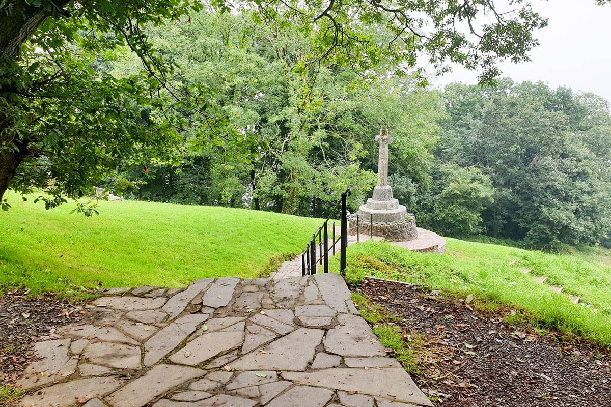 Memorial in Clovelly, North Devon