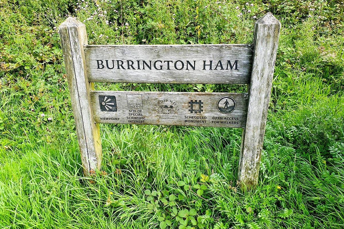 Burrington Ham in the Mendips