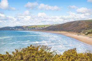 Woolacombe Beach in North Devon
