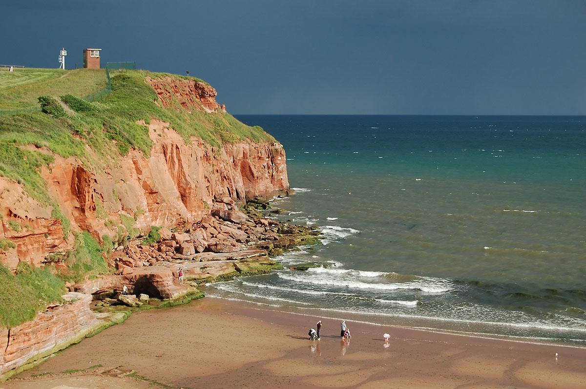 Cliffs in Devon