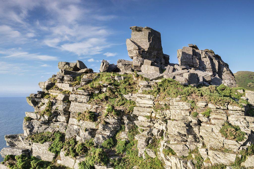 Beautiful rocks at Valley of Rocks