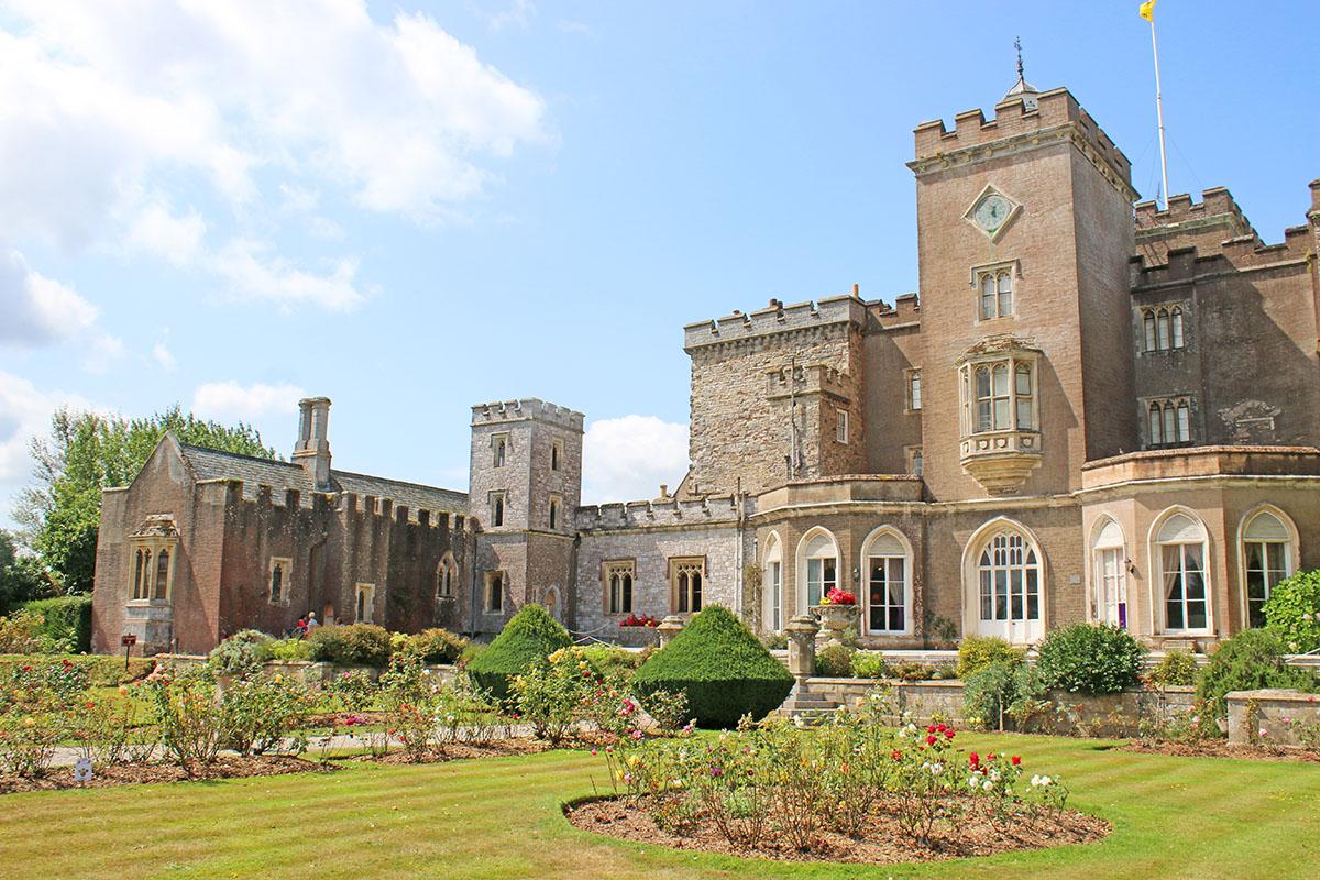 Powderham Castle on the Exe Estuary