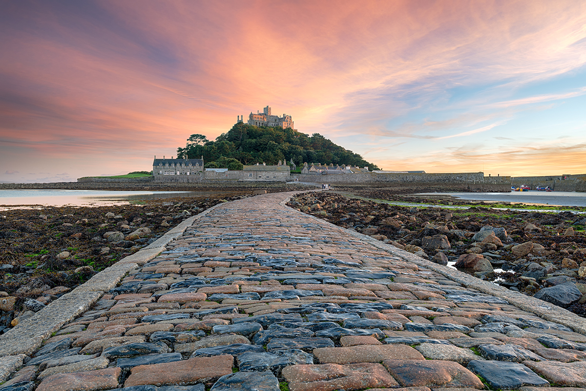 St Micheal's Mount in Cornwall, South West England