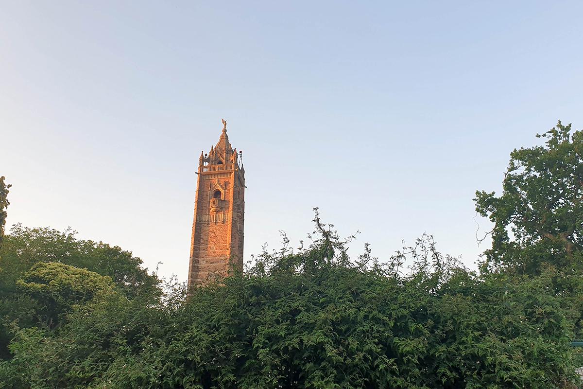 Cabot Tower at Brandon Hill, Bristol