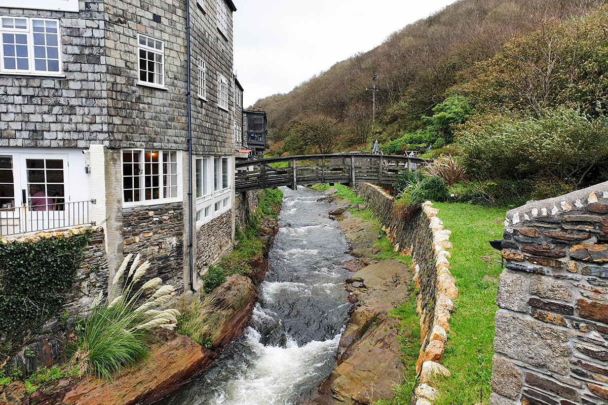 Boscastle River, Cornwall