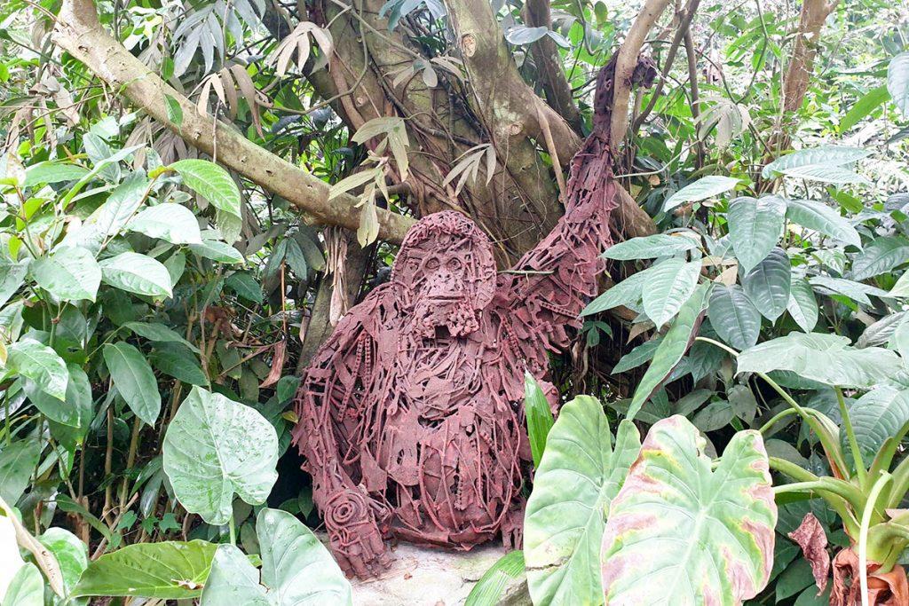 Eden Project Orangutan, Cornwall