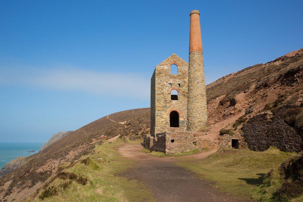Geevor Tin Mine in Cornwall