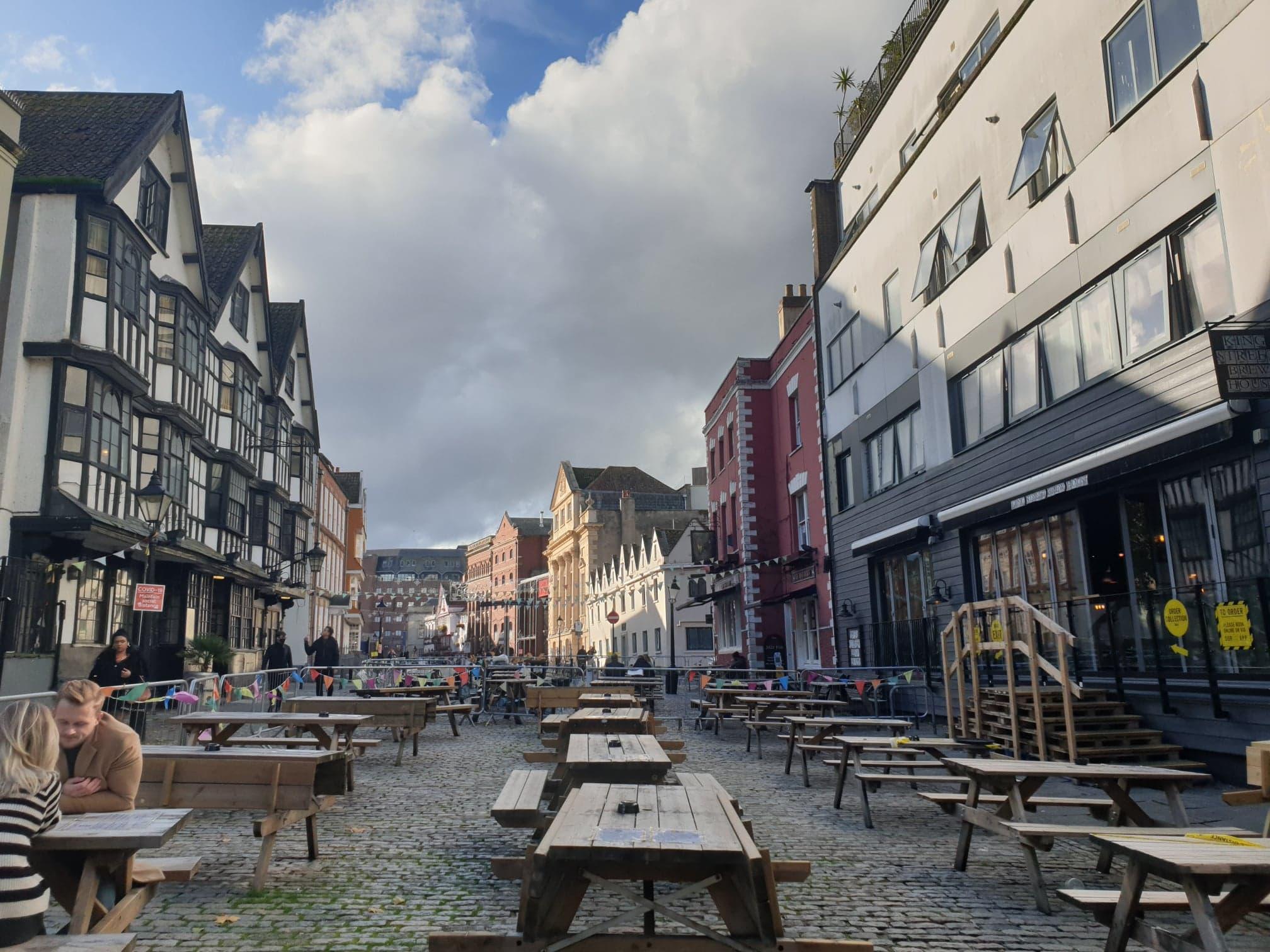 Pubs in King Street, Central Bristol
