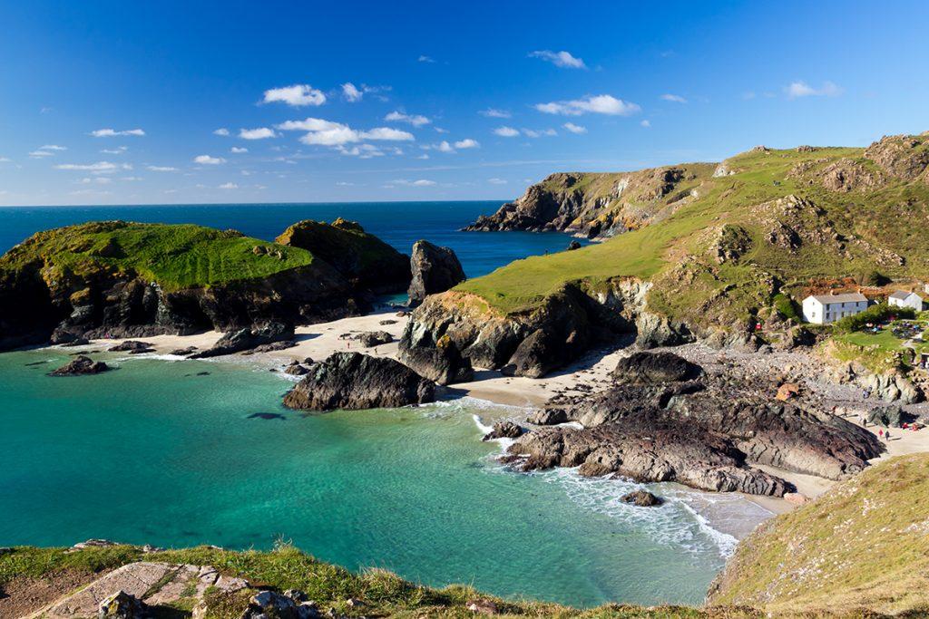 Lizard Peninsula in Cornwall