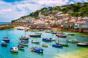 Mousehole, a village near Penzance in Cornwall
