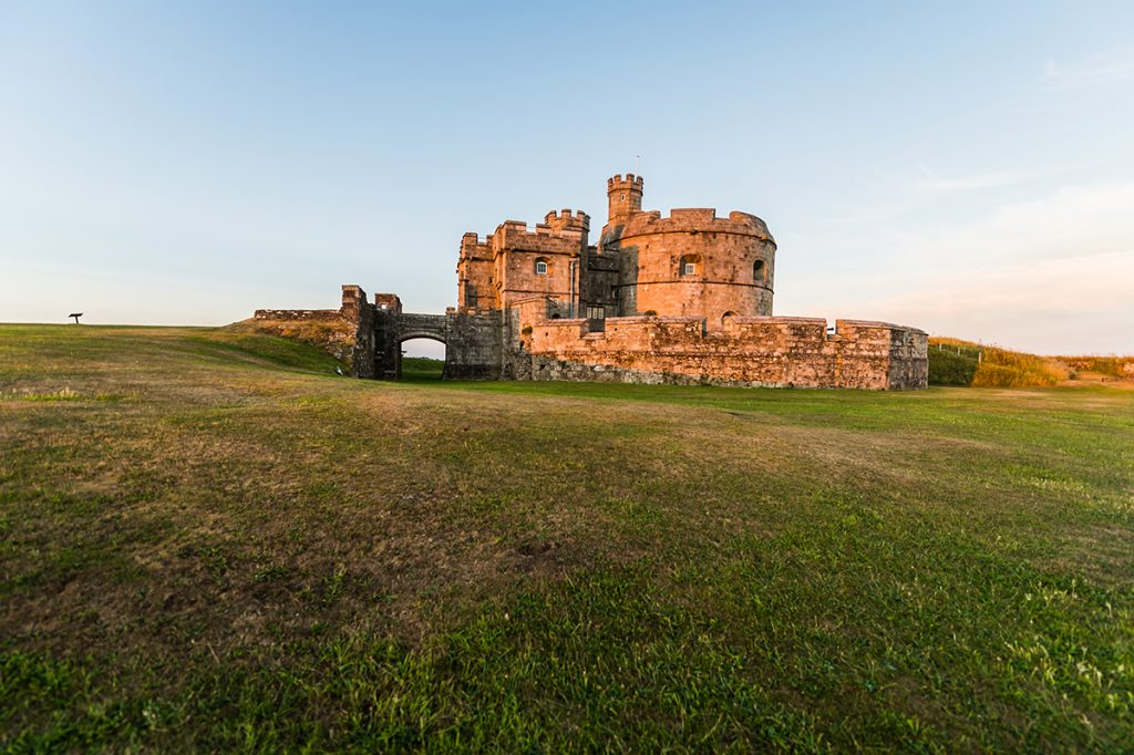 Pendennis Castle near Falmouth, South West England
