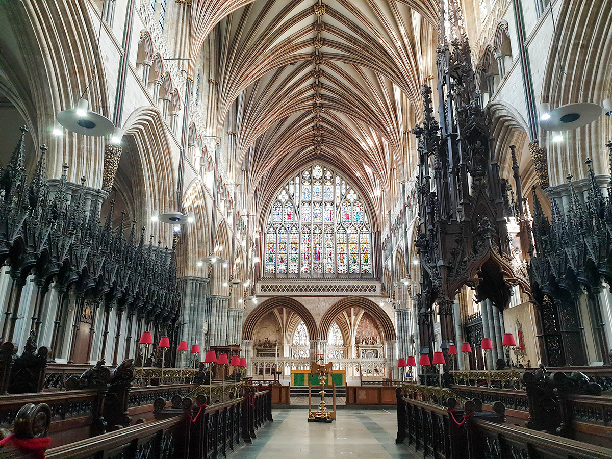 Exeter Cathedral Nave, Devon