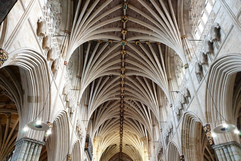 Exeter Cathedral Roof, Devon