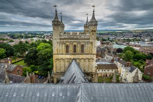 Exeter Cathedral Tower