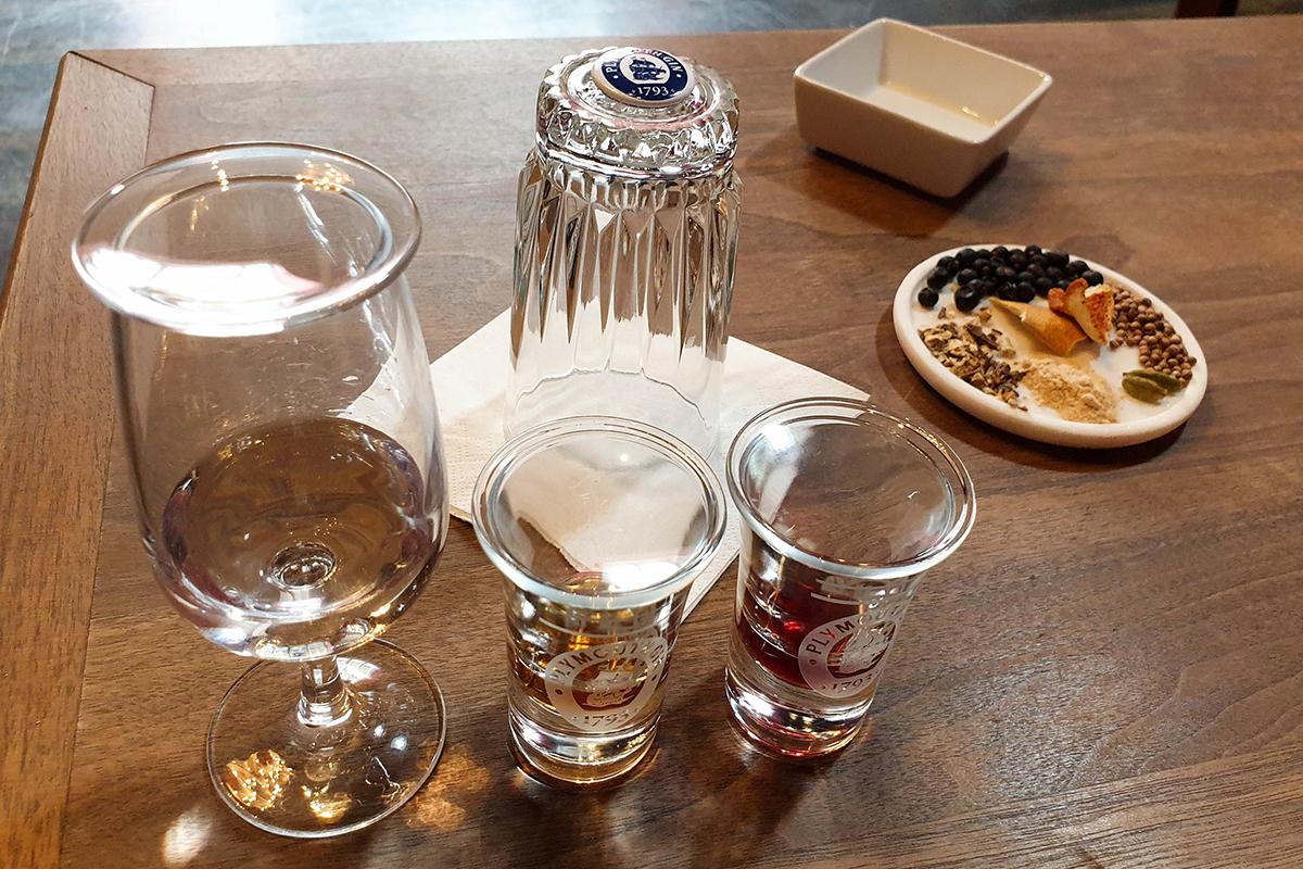 Plymouth Gin Making