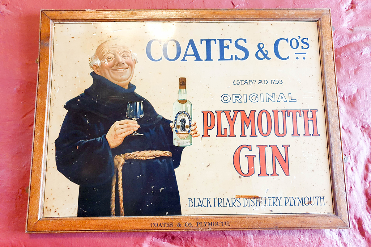 Plymouth Gin Sign