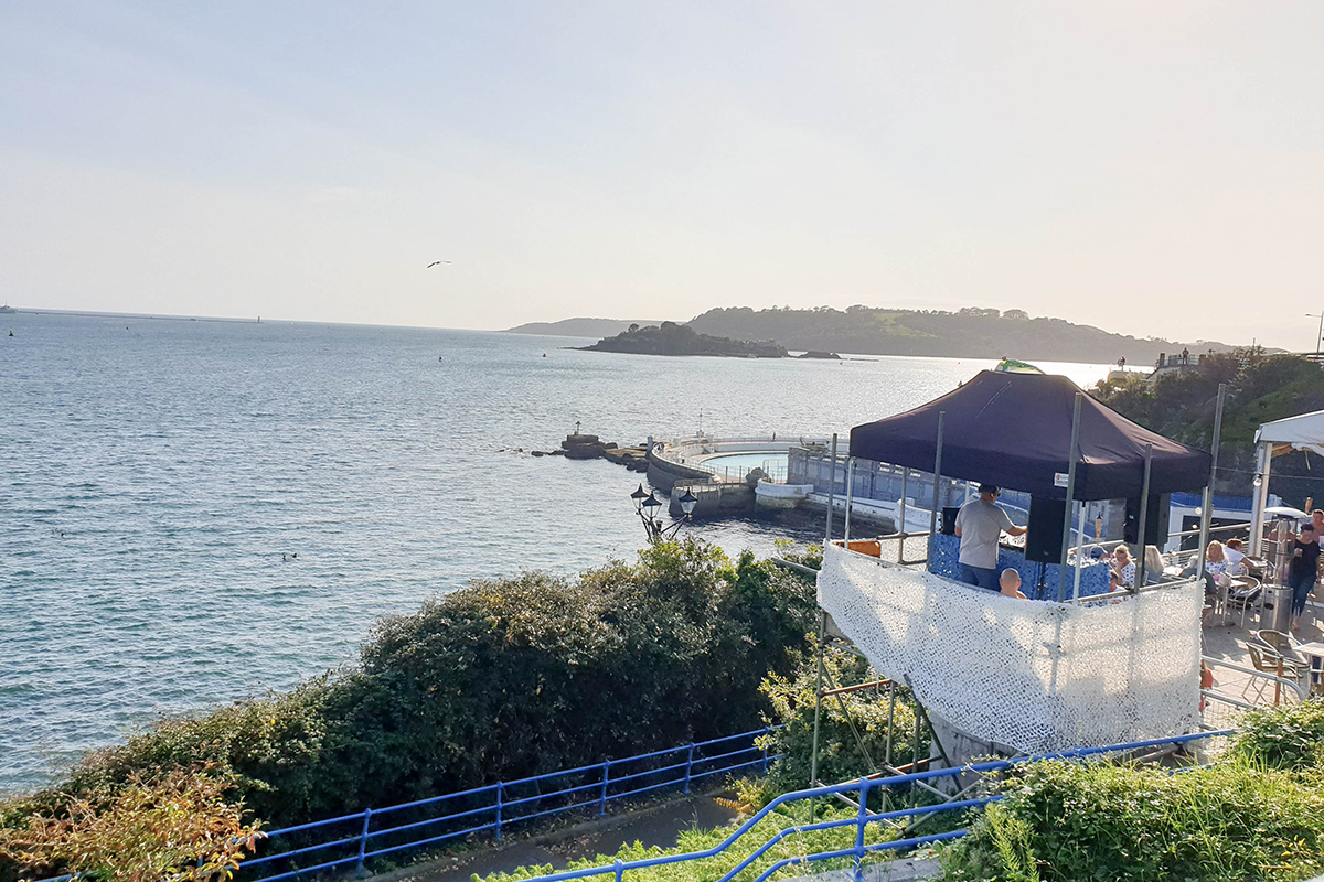 The Terrace Bar at Plymouth Hoe