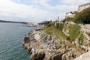 View of Hoe Plymouth