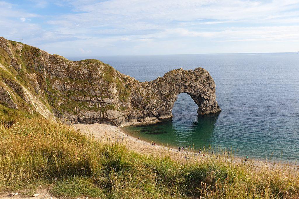 Durdle Door on the Jurassic Coast in Dorset