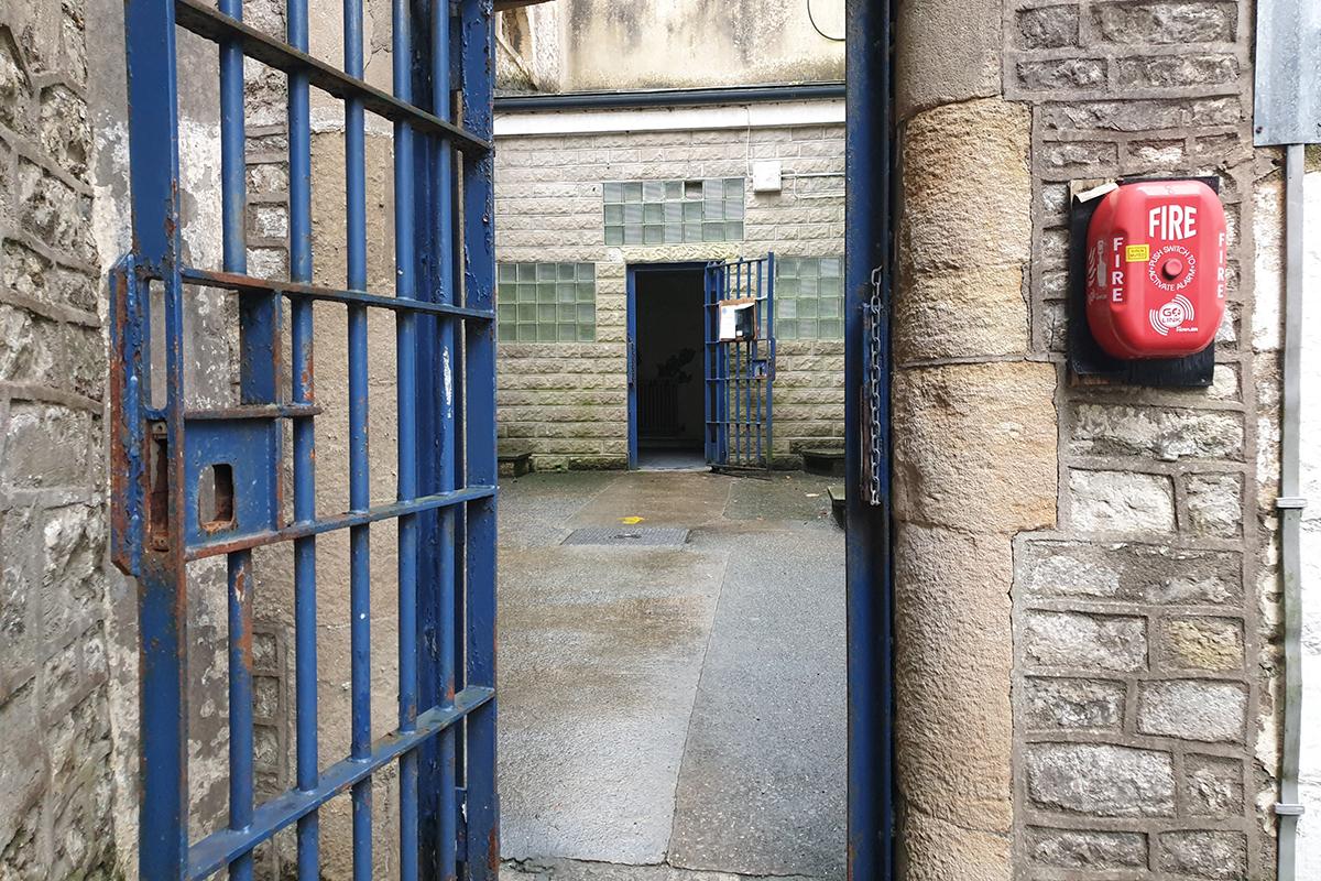 Shepton Mallet Prison Door