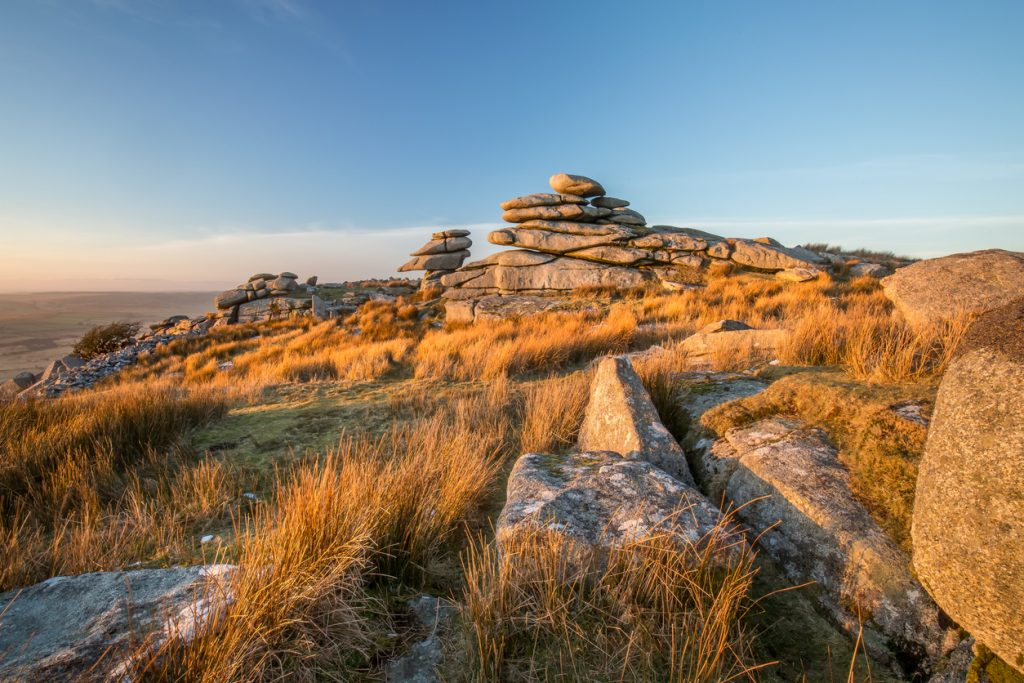 Golden Glow, The Cheesewring, Bodmin Moor, Cornwall