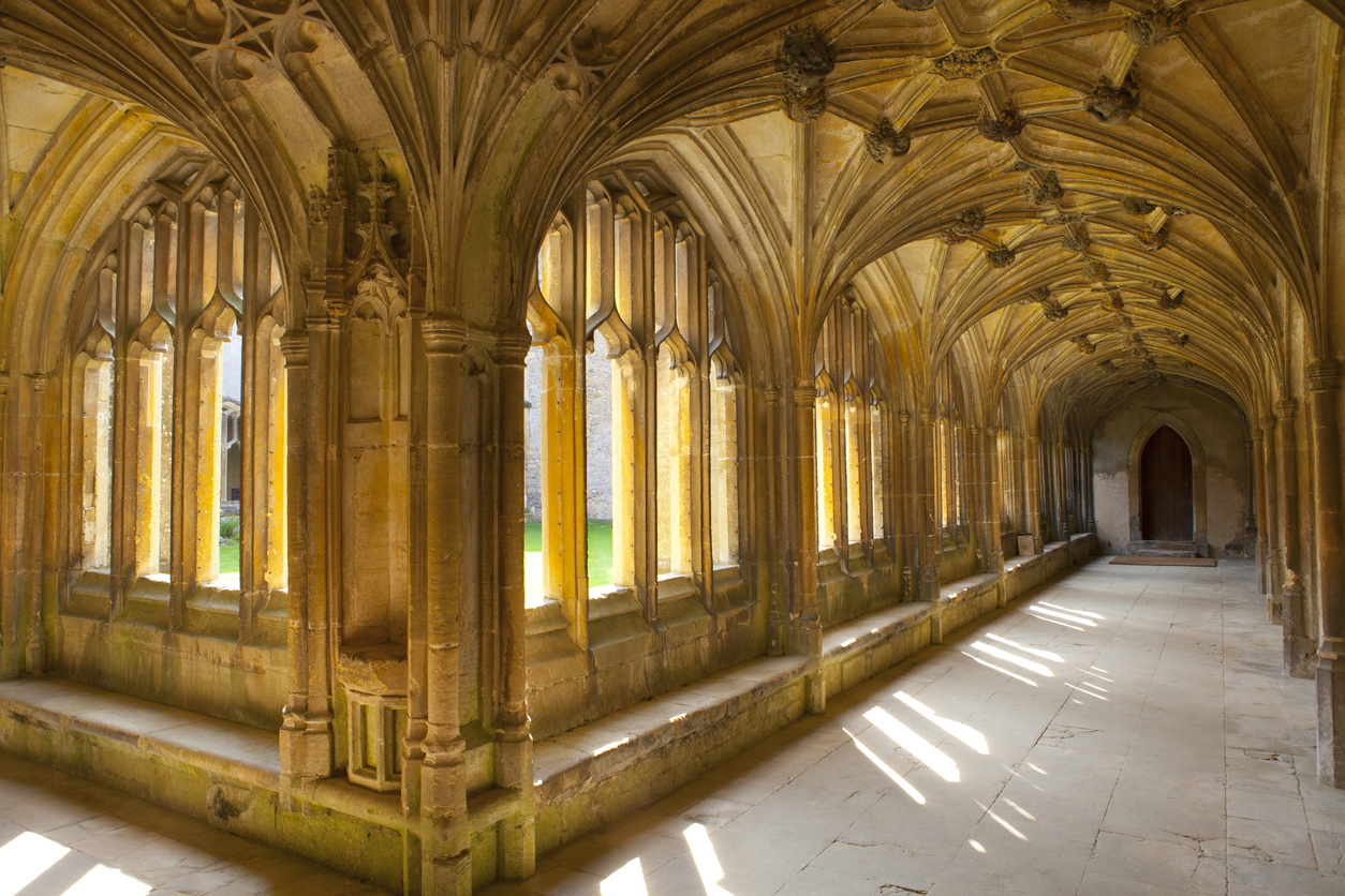Cloister at Lacock Abbey, Wiltshire
