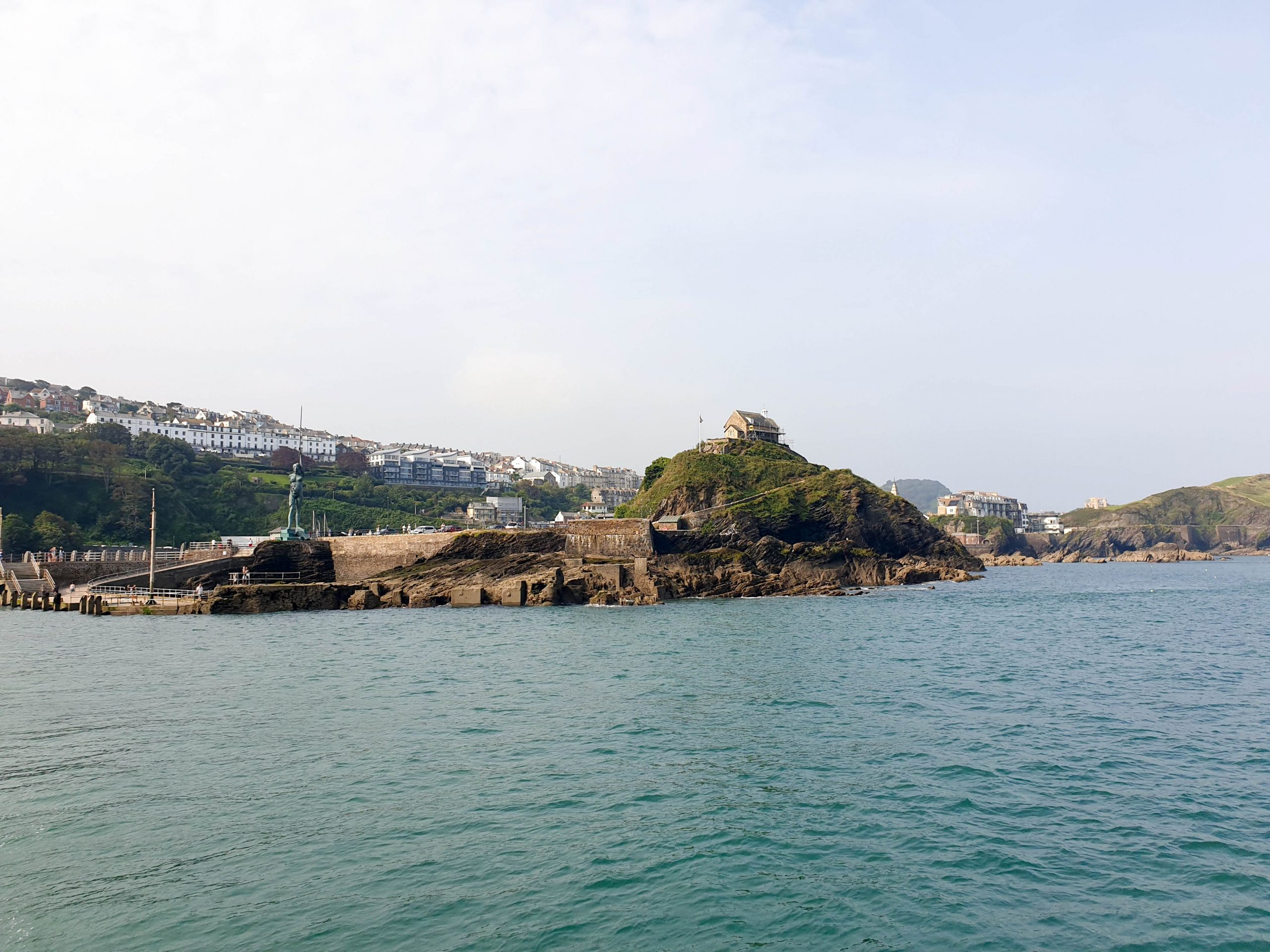 View of Ilfracombe Harbour, South West England
