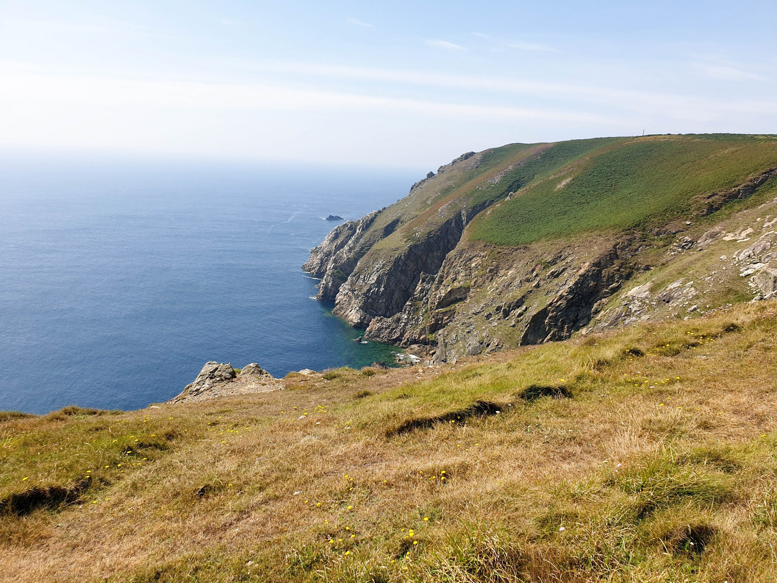 Lundy Island cliffs, Devon