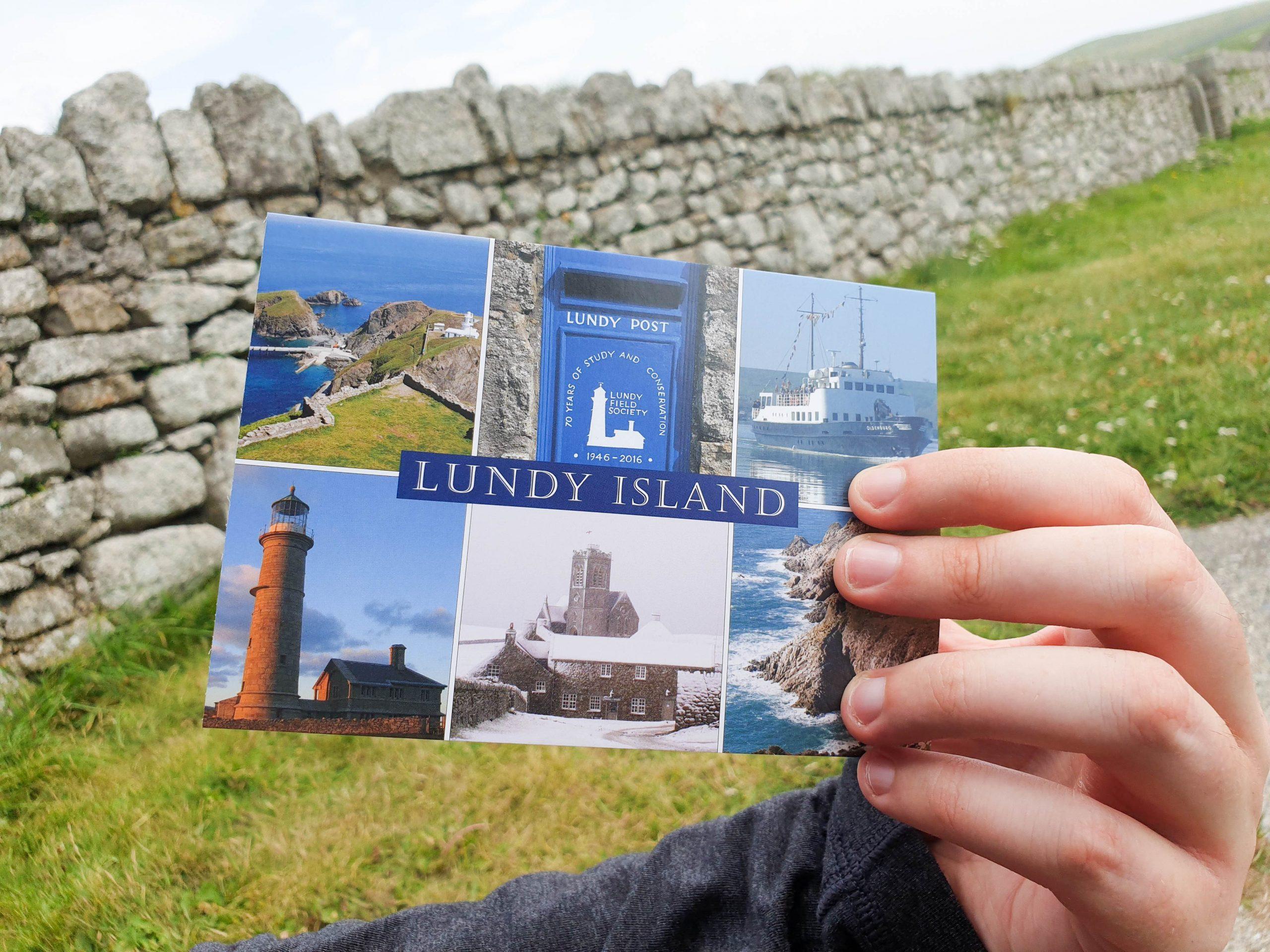 Lundy Island Postcard