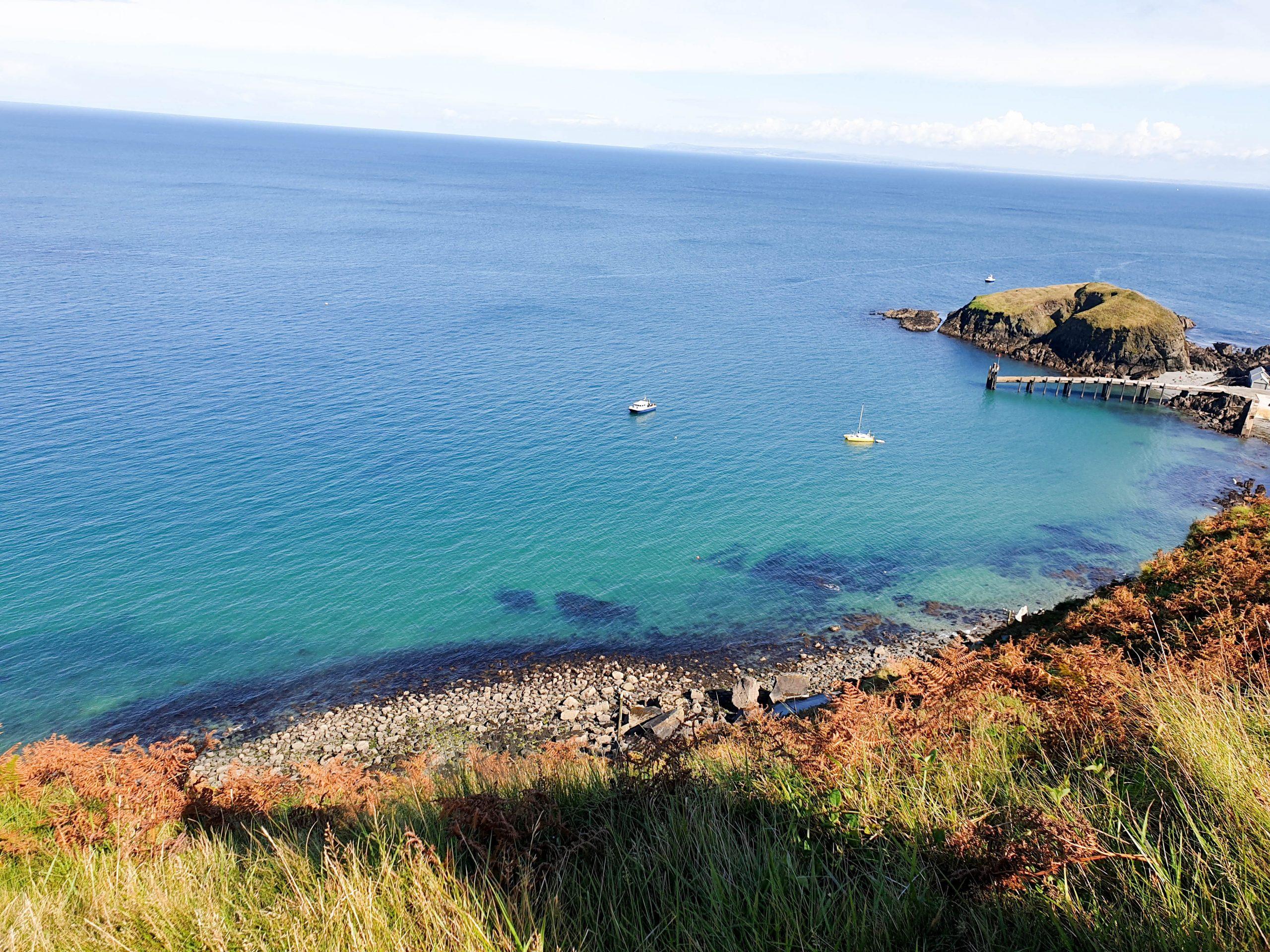 Sea by Lundy Island, North Devon