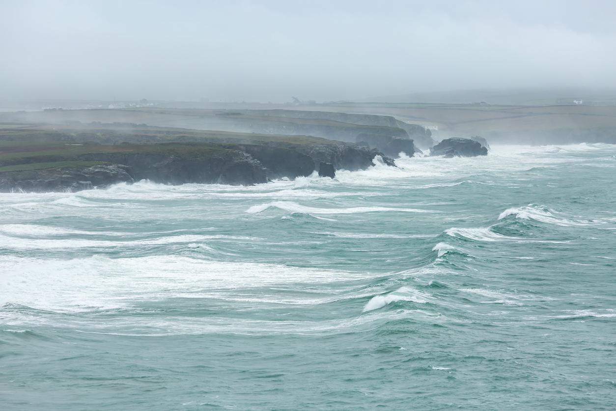 Coastline Storm, Constantine Bay, Cornwall