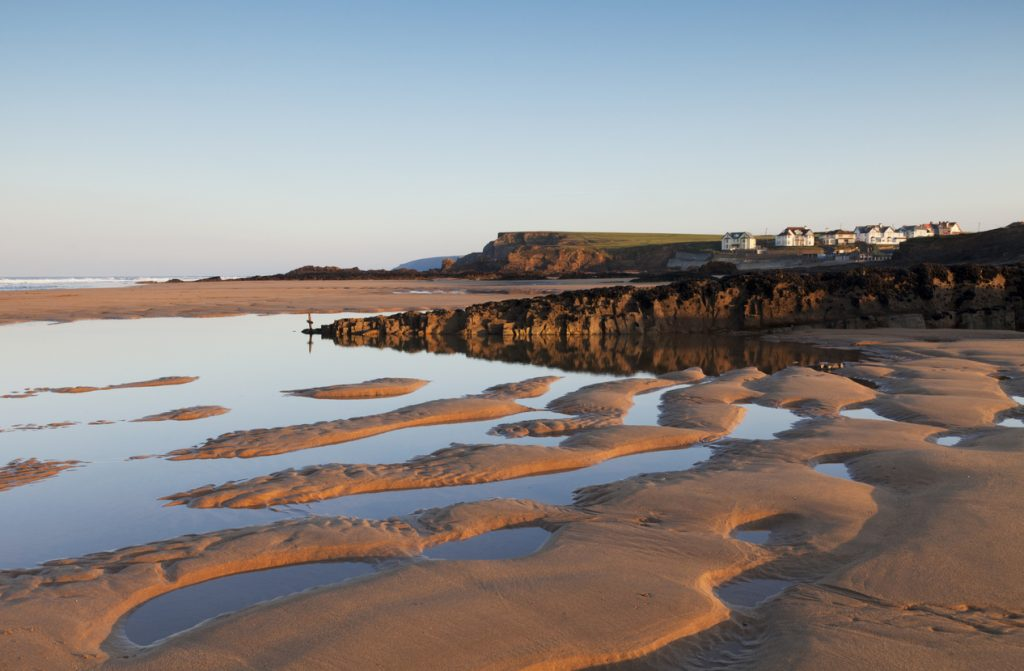 Beautiful Summerleaze Beach, one of the best things to do in Bude, North Cornwall