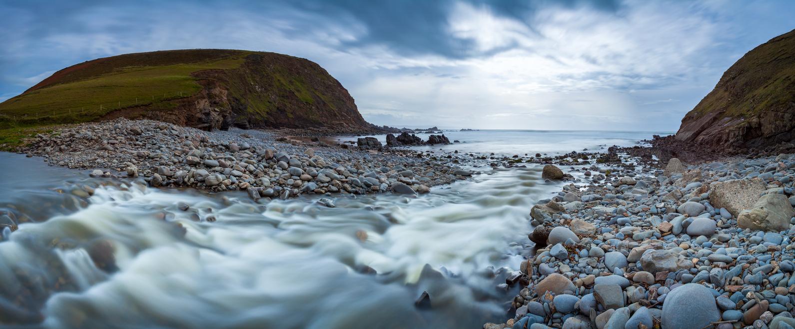 Duckpool Beach Cornwall South West England UK