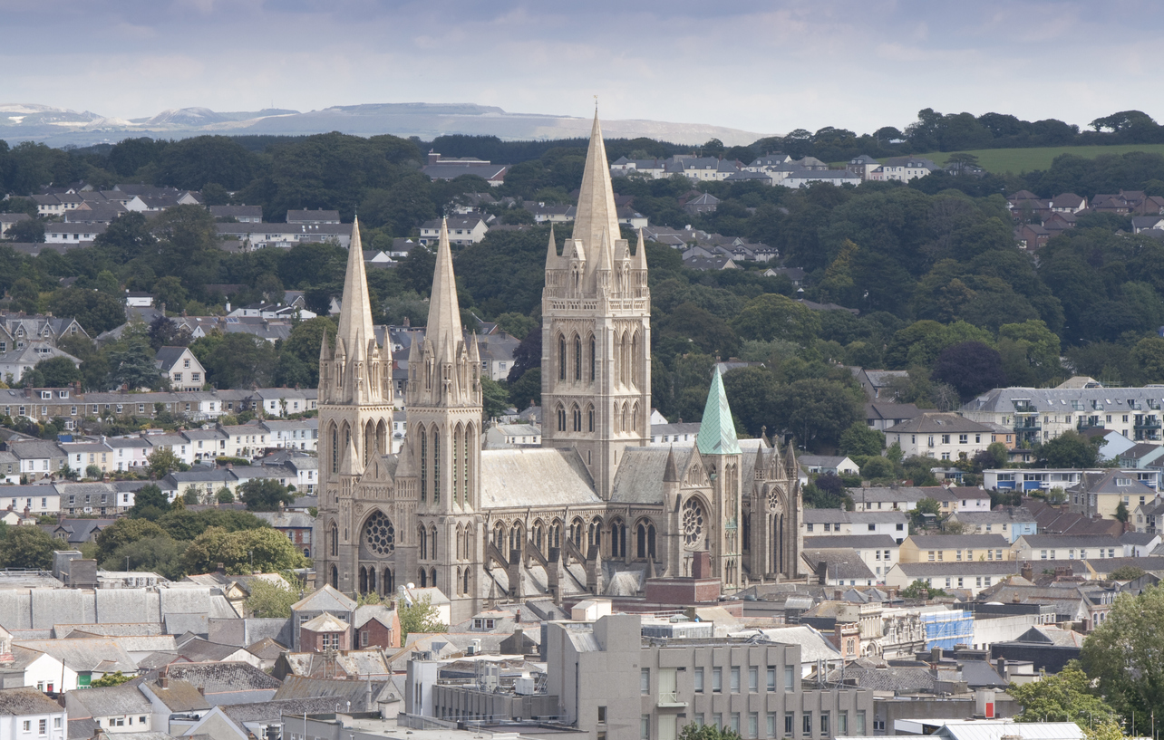 Truro Cathedral in Cornwall