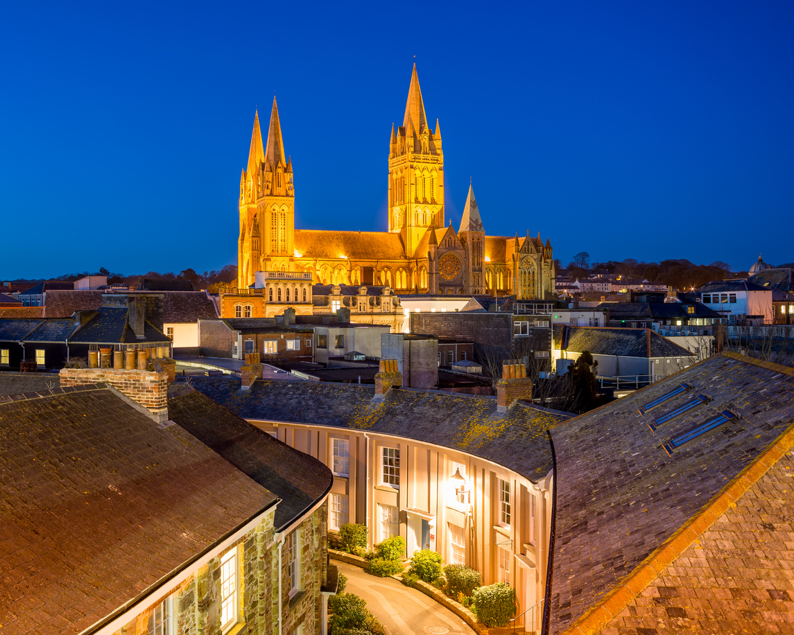 Truro Cornwall South West England