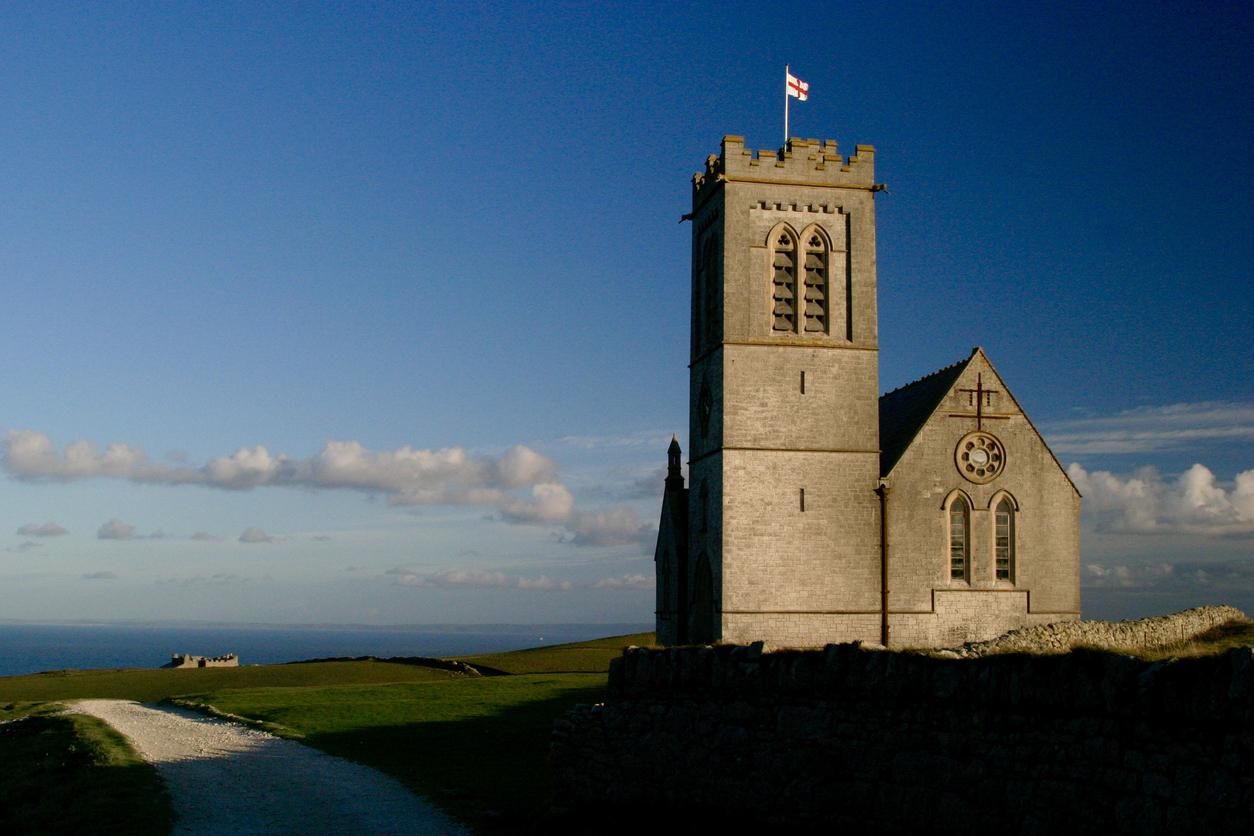 Church on Lundy Island, North Devon