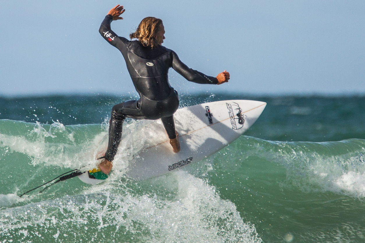 Surfing in Newquay, Northern Cornwall