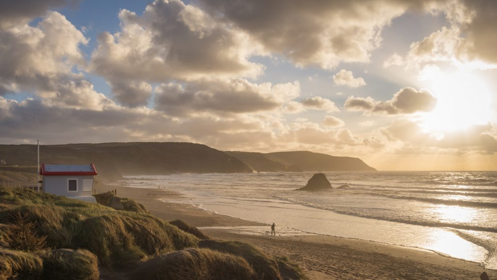 Widemouth Bay near Bude, Cornwall