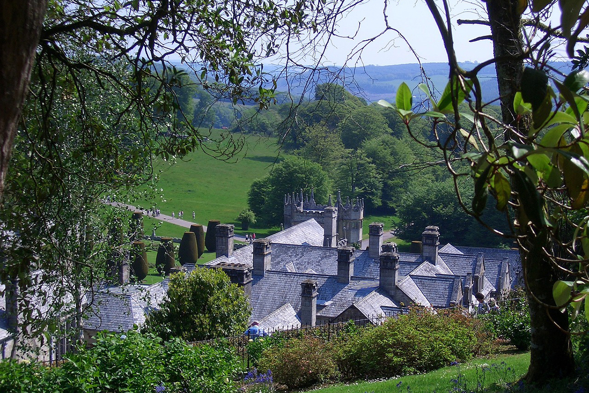 Lanhydrock, near Bodmin in Cornwall, South West England