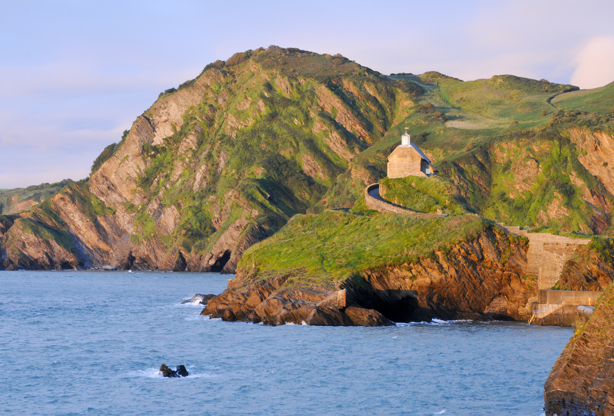 South West Coast Path of Ilfracombe in North Devon