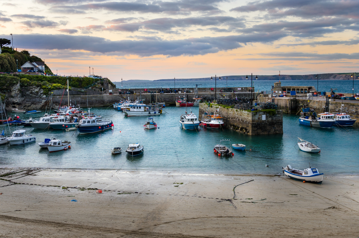 Cornwall's stunning harbour in Cornwall