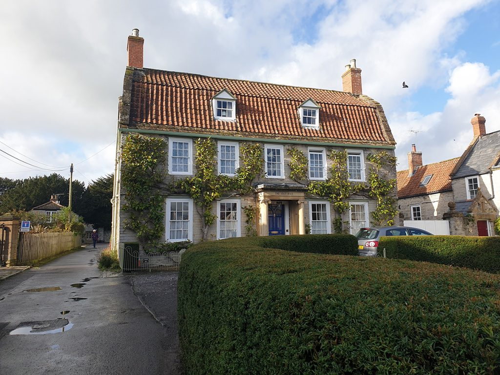 Historic house in Somerton, Somerset