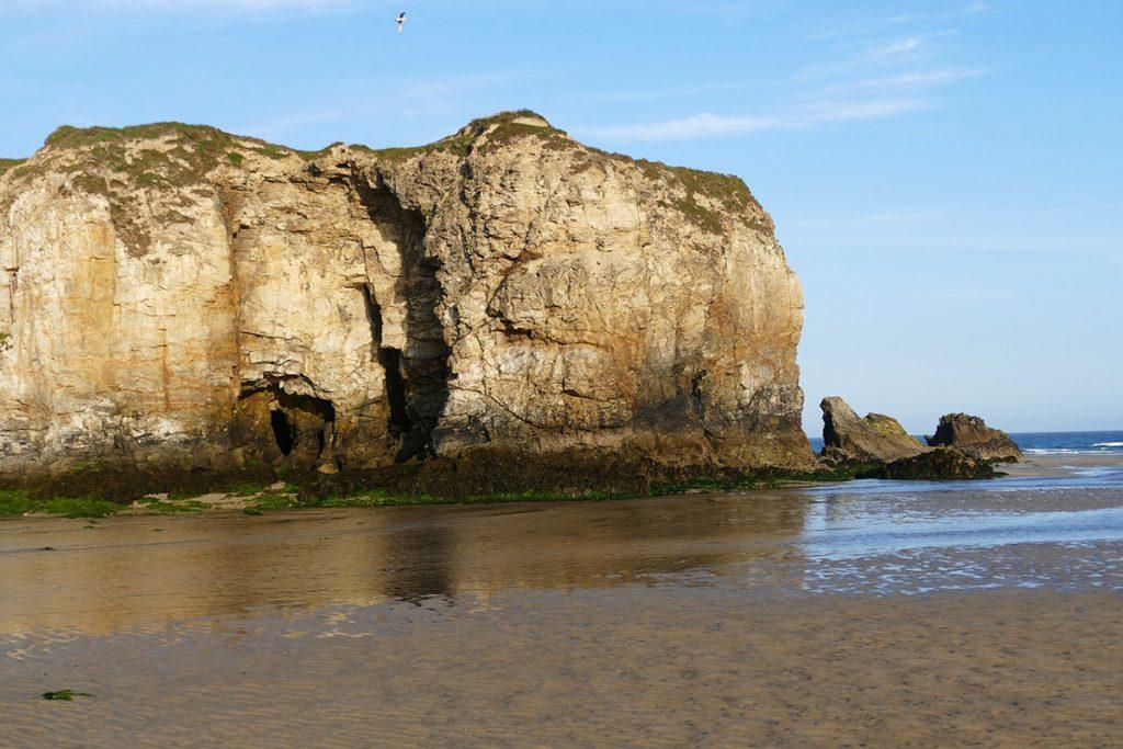 rock climbing in Polperro, Northern Cornwall