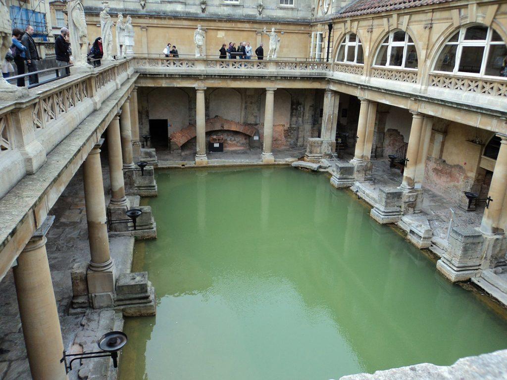 Roman Baths in Bath, Somerset