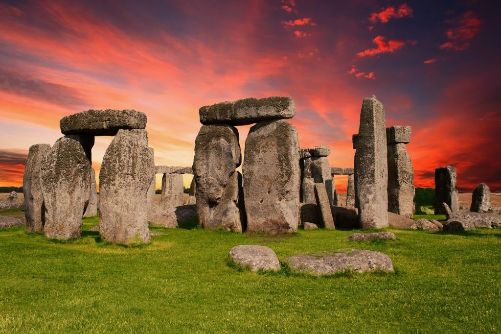 Stonehenge in Wiltshire, South West England